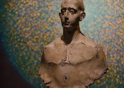 L'homme et la graine béton ( concrete ) 51 x 32 x 20 cm, 2016