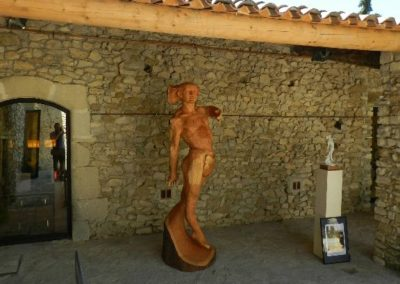 "Art in progress  "" Le faune""    Davide Galbiati, Vaison-la-Romaine"