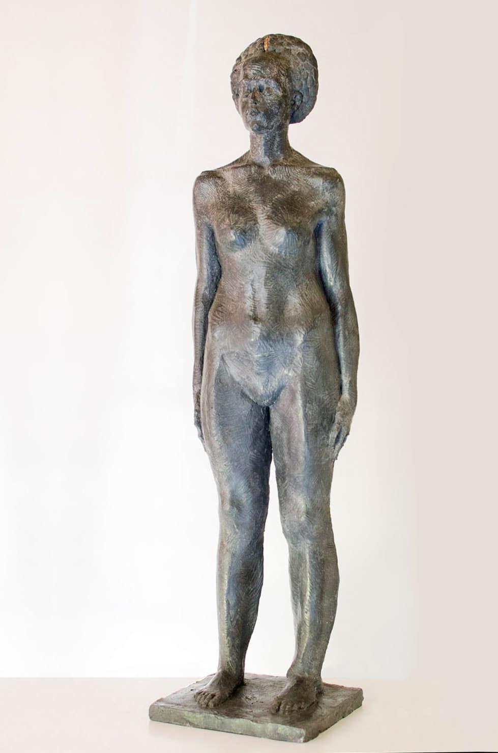 """"""" From Your Soul """", béton, 90 cm, 2016 - Pièce unique"""