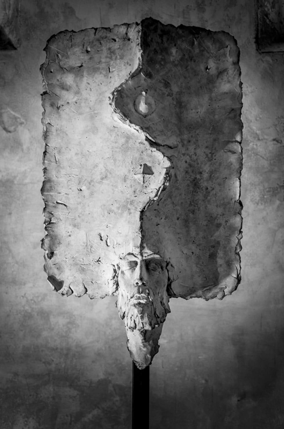 """"""" Saint Pierre """", béton, 100 cm, 2014 - Pièce unique"""