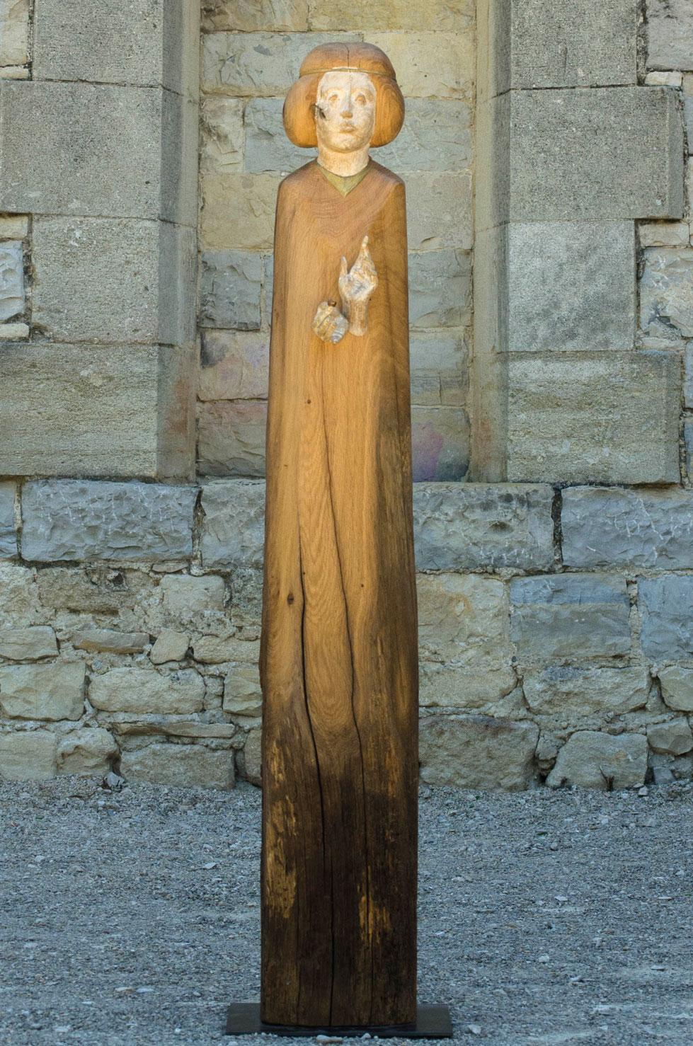 """"""" My Best Seed """" chêne antique, 130 cm, 2016 - Pièce unique"""