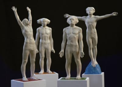 Davide Galbiati, Sculptures