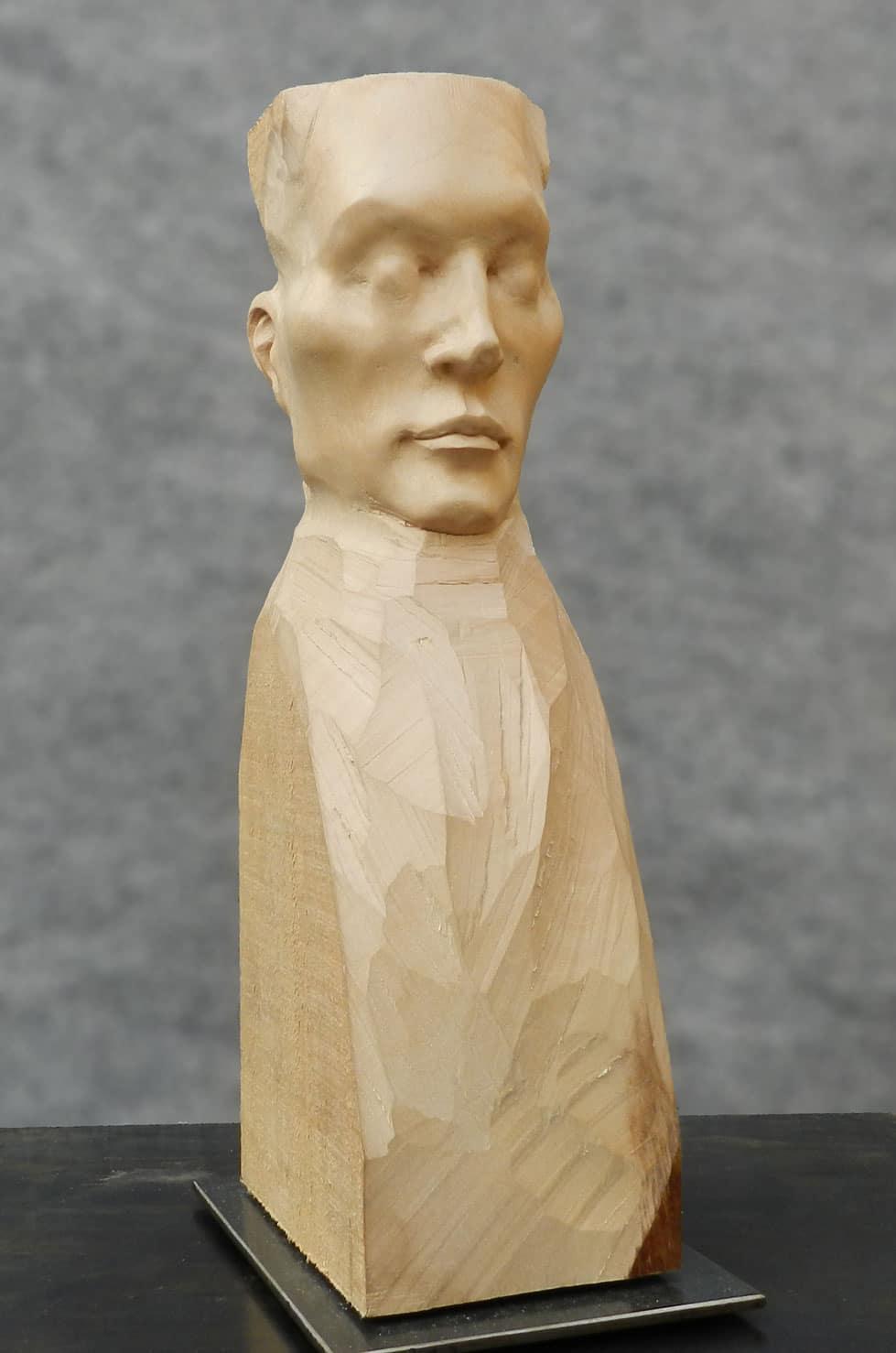 """ Silence "", tilleul, 36 cm, 2012"