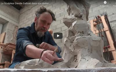 France 3 – Le sculpteur Davide GALBIATI dans son atelier
